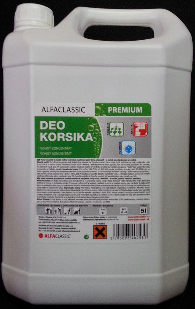 DEO KORSIKA vonný koncentrát 5L
