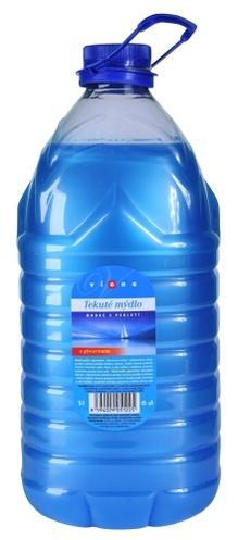 Tekuté mýdlo Vione s glycerínem 5l soudek, různé barvy